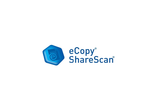 eCopy Sharescan - designed to run inside a supported Multi-Function printer